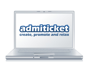 admiticket create events and sell tickets online